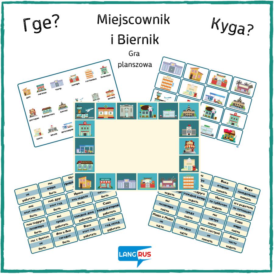 gra na lekcje rosyjskiego